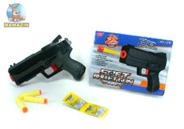 Пистолет водяные пули, пули-присоски