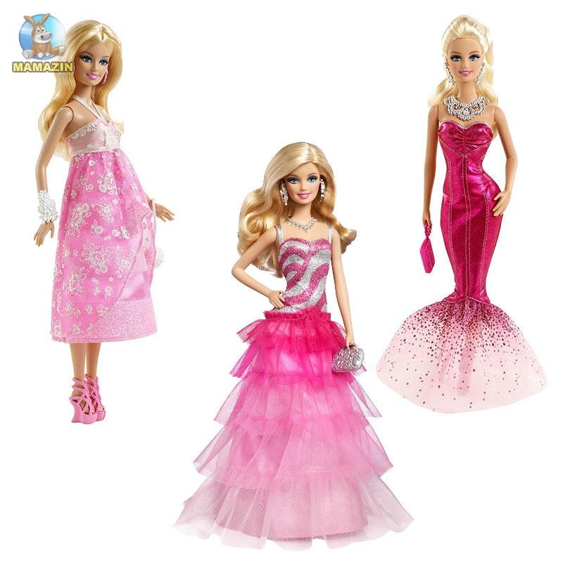 Кукла Барби в вечернем платье