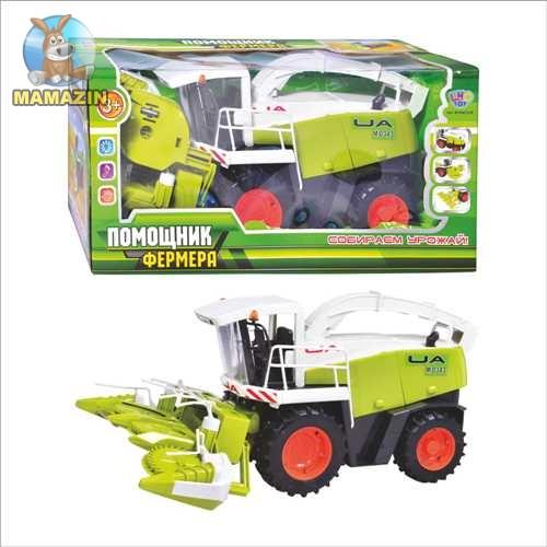 """Комбайн игрушечный """"Помощник фермера"""""""