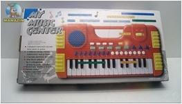 Детский синтезатор (батарейки)