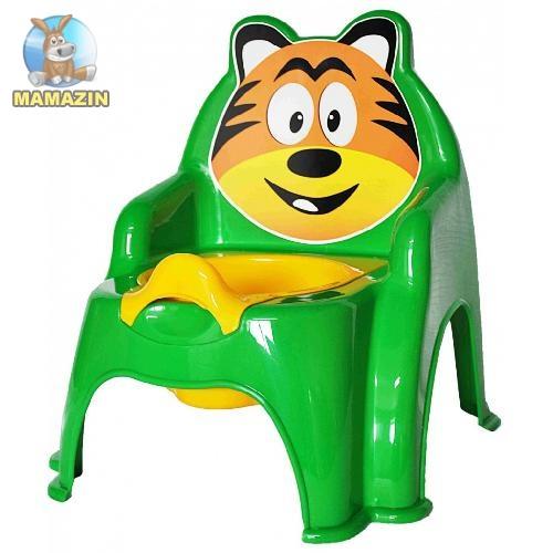 Горшок детский №1 зелений