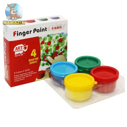 Краска для рисования пальчиками