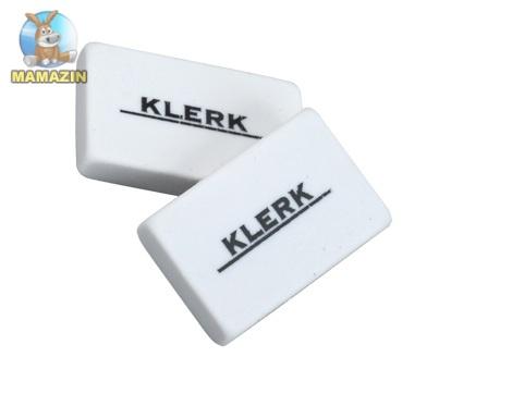Резинка белая Klerk - блок