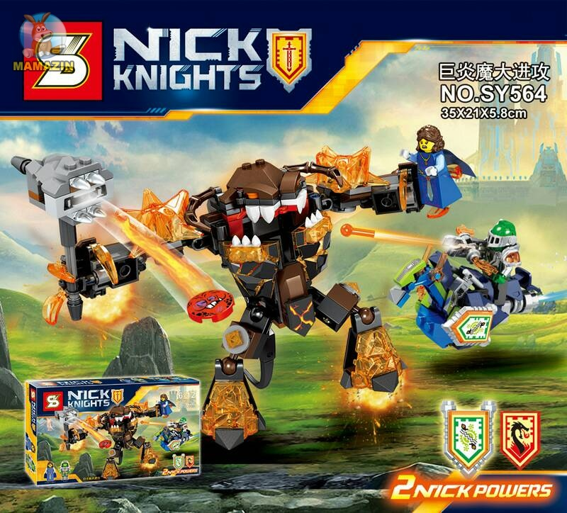Конструктор Nexo Knight Infernox Captures The Queen