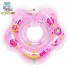 "Круг для купания младенцев ""BABY Girl"", розовый"