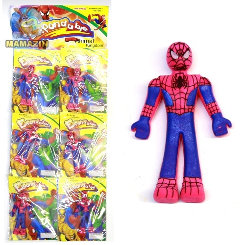 Растушка человек паук  - блок
