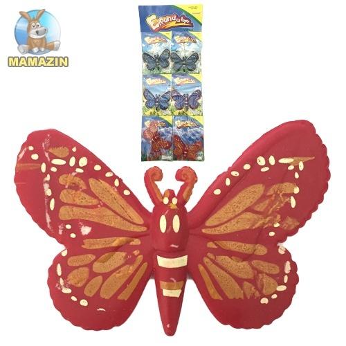 Растушка Бабочка большая 6 шт. на планшете