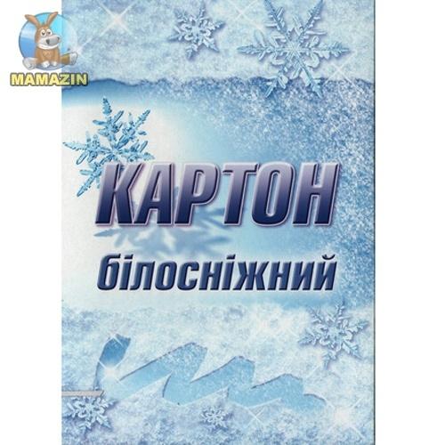 """Картон А4 10л """"Білосніжний"""" ЛунаПак"""
