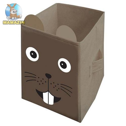 Ящик мишка 25*25*38см