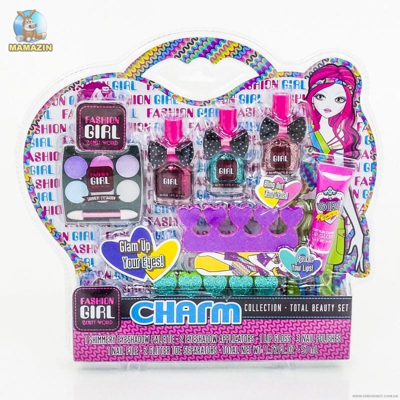 Набор косметики для девочек Charm