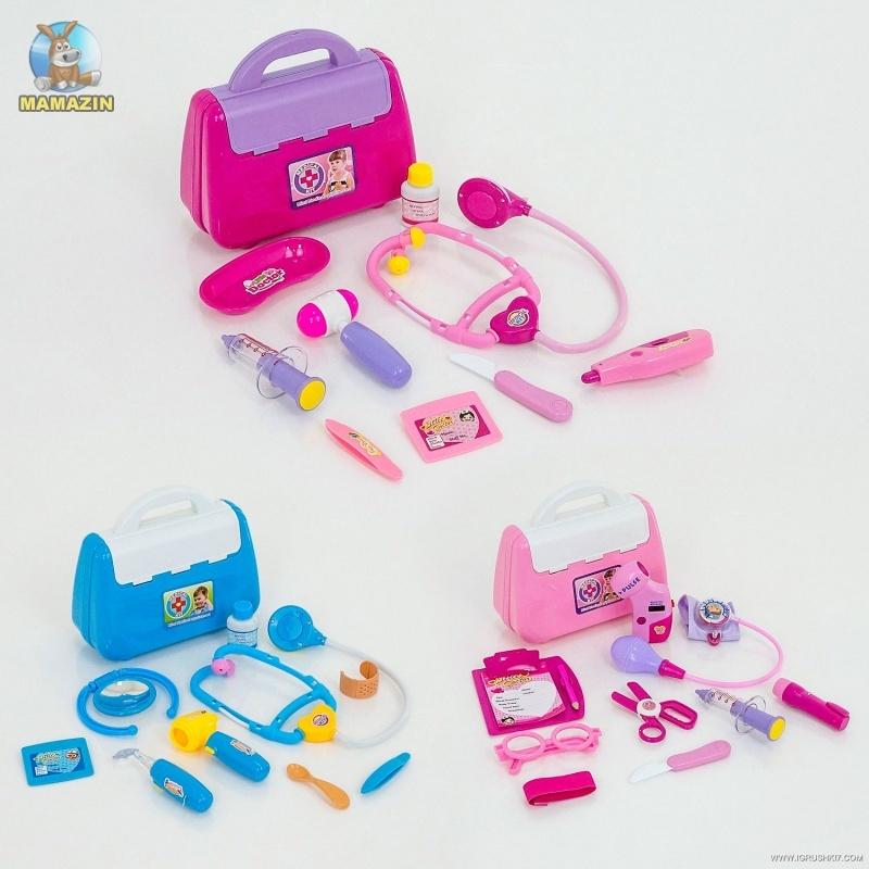 Набор игрушечного доктора в чемоданчике