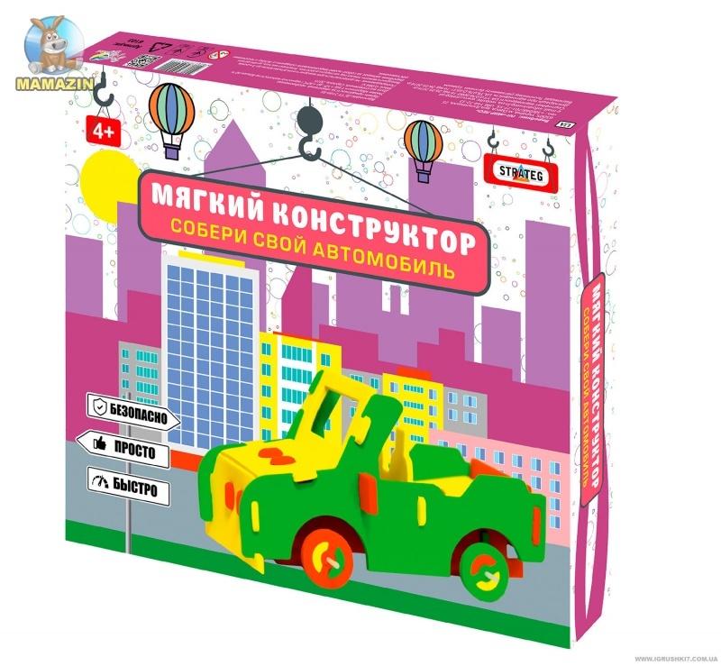 """Конструктор мягкий """"Автомобиль-внедорожник"""""""