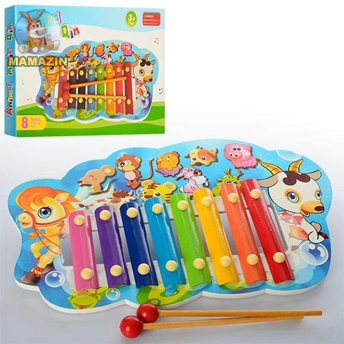 """Деревянная игрушка """"Ксилофон"""""""