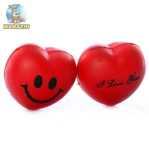 """Мяч детский фомовый """"Сердце"""""""