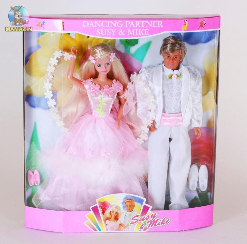 """Кукла Creation & Distribution Сюзи и Майк """"Танцевальная пара"""""""