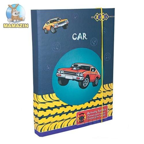 """Папка для трудов, картонная, """"CAR"""""""
