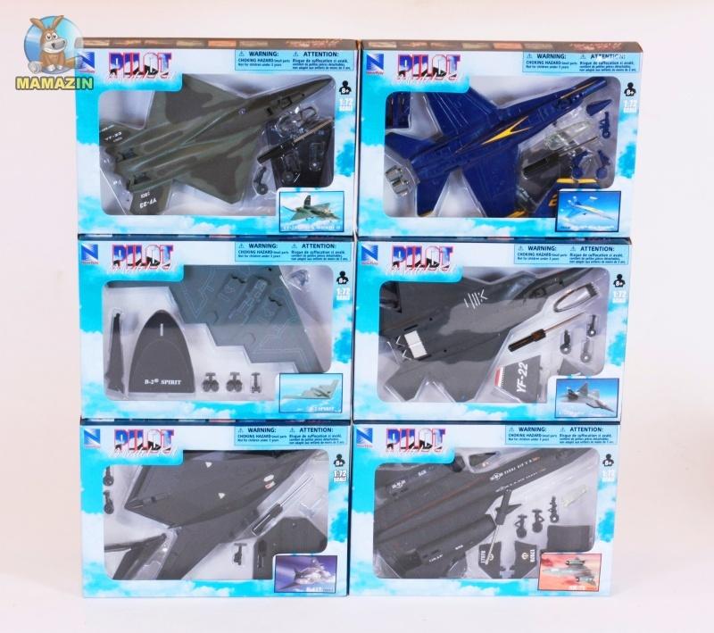 Самолет сборная модель - Die-Cast, Локхид SR-71 Blackbird