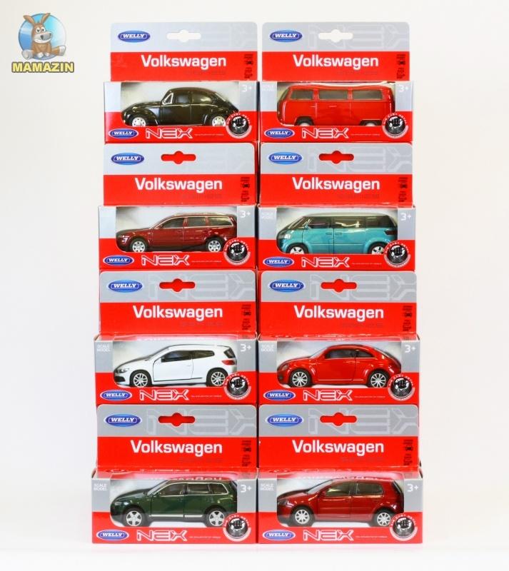 Коллекционная машинка Volkswagen