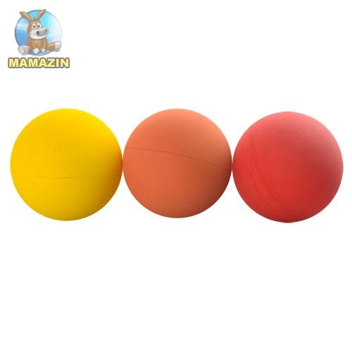 Мячик для метания, 60мм, резина - блок