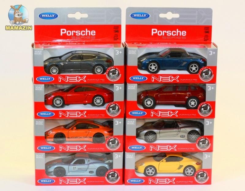 Машина коллекицонная Porsche