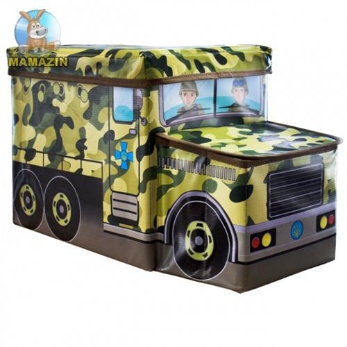 Дитячий пуф воєнна машина