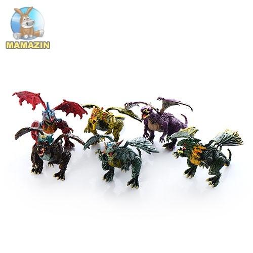 Набор динозавров с подвижными лапами