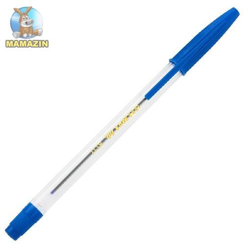 """Ручка кулькова (тип """"Корвіна""""), синя - блок"""