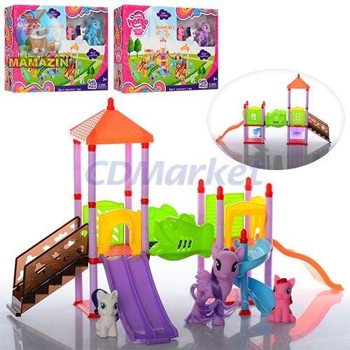 """Набор игровой детская площадка """"Мой маленький пони"""""""