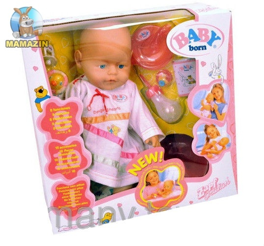 Пупс копия Baby born - механический
