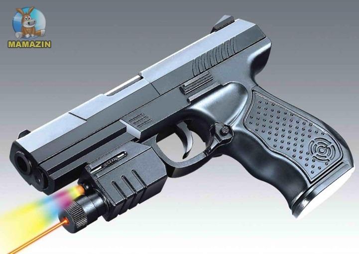 Пистолет ировой  с лазерным прицелом