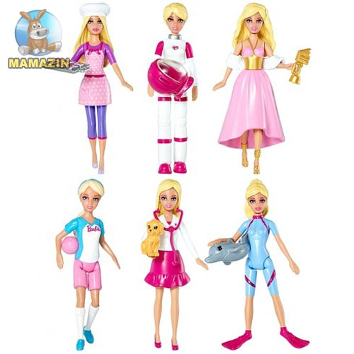 """Міні-лялька  Barbie серії """"Я можу бути"""""""