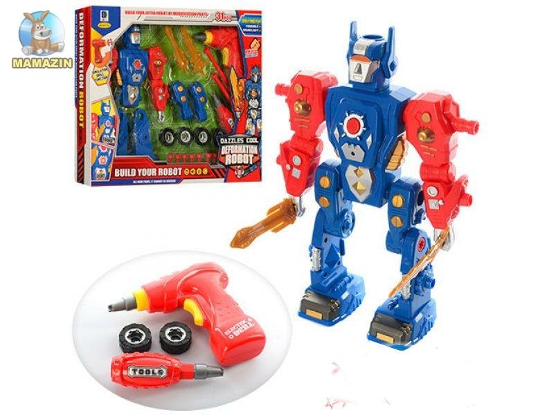 Конструктор робот с  шуруповертом