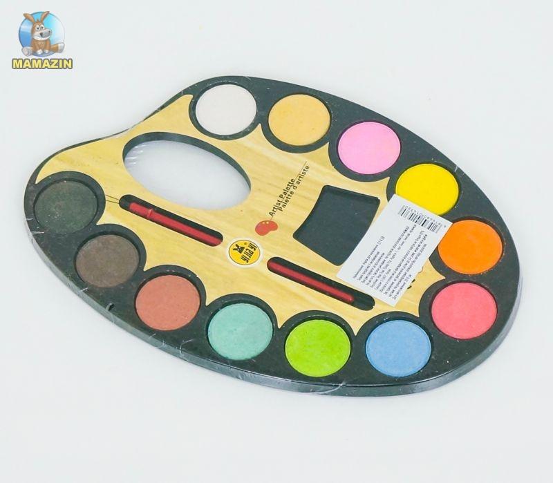 """Краски акварельные для рисования, 12 цветов """"Палитра"""""""