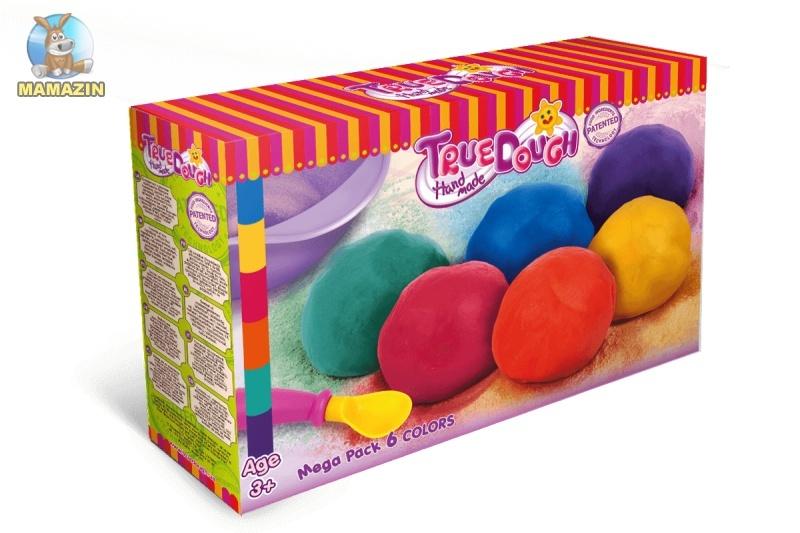 Мега набор для лепки 6 цветов ТруДо