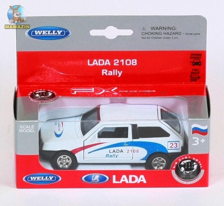 Машина LADA 2108 ралли