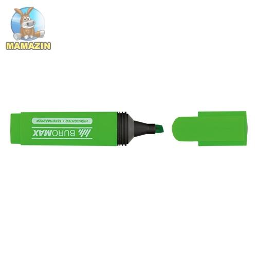 Текст-маркер флуор., зелений