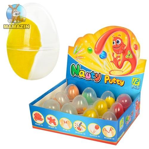 Жвачка для рук ароматизированная в яйце, (блок)