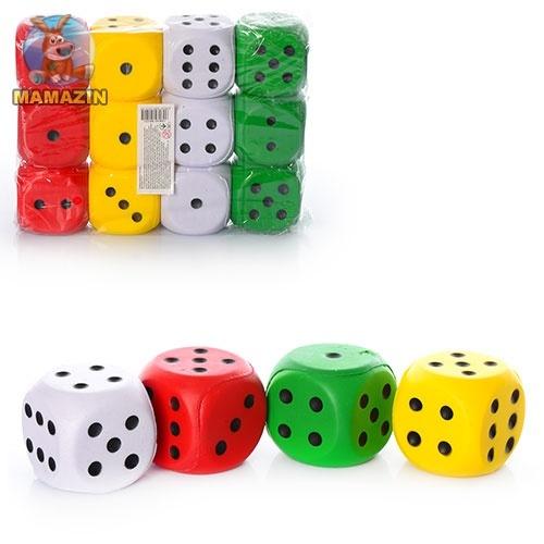 Мяч детский фомовый кубик