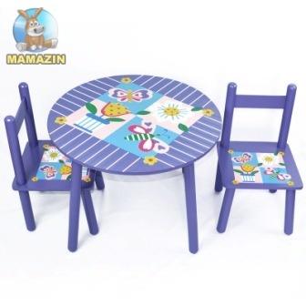 """Стол и 2 стула """"Цветы"""""""