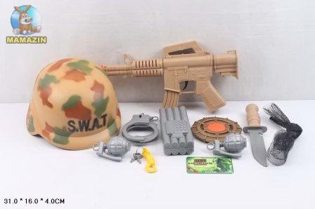 Военный набор с каской