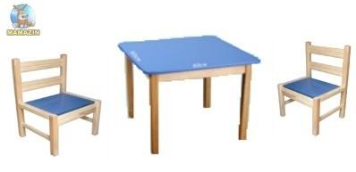 Стол детский + 2 стула