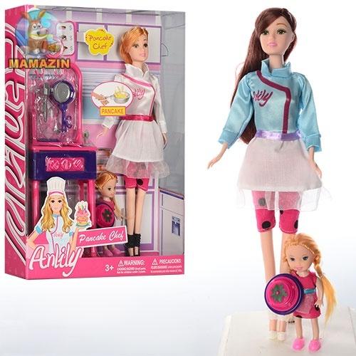 Набор мебели кухня с куклой