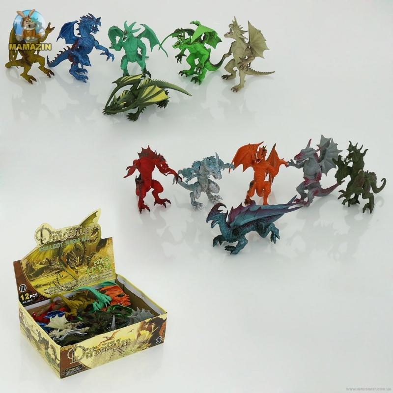 Драконы фигурки - блок