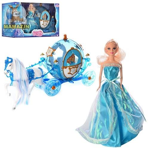 Набор Карета с лошадью и куклой
