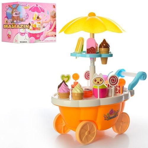 """Детски игровой набор """"Магазин на колесах"""""""