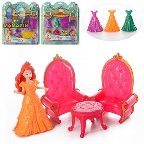 Фигурка Принцессы + платья