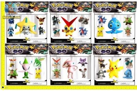 "Покемоны фигурки ""Pokemon GO"""