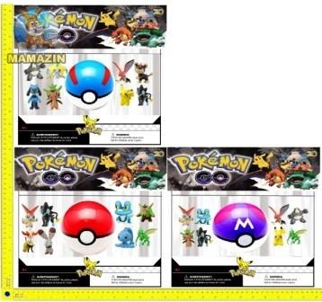 """Покемоны фигурки + покебол """"Pokemon GO"""""""
