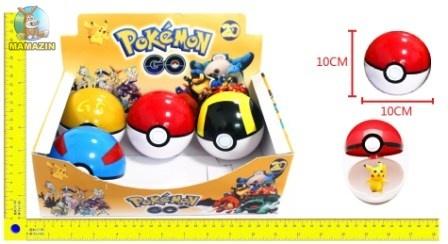 """Покебол с фигуркой """"Pokemon GO"""" - блок"""