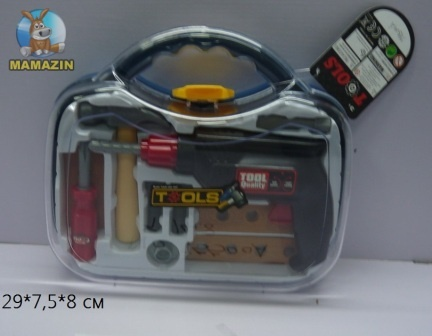 Набор инструментов игрушечный в чемоданчике